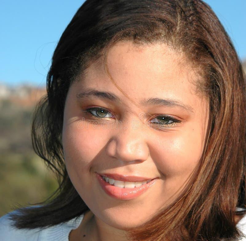 Femmina dell'afroamericano fotografie stock libere da diritti