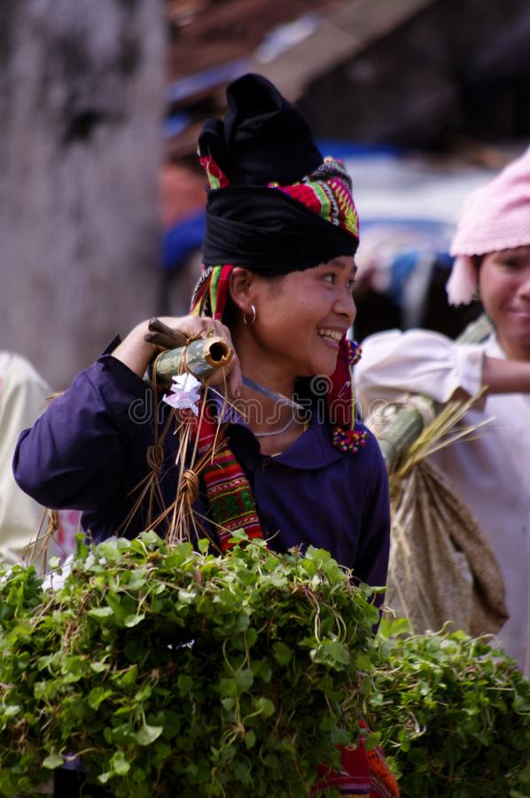 Femmina etnica di Thay fotografie stock libere da diritti