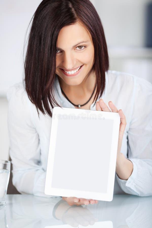 Femmina sorridente fotografie stock