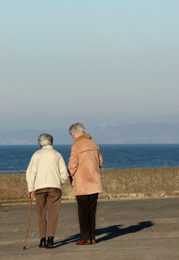 Femmine anziane fotografia stock libera da diritti