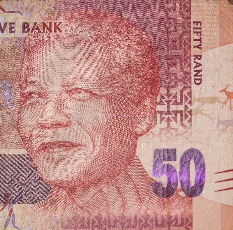Femtio Rand, Nelson Mandela arkivfoto