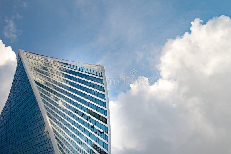 Fenêtre au ciel photos libres de droits