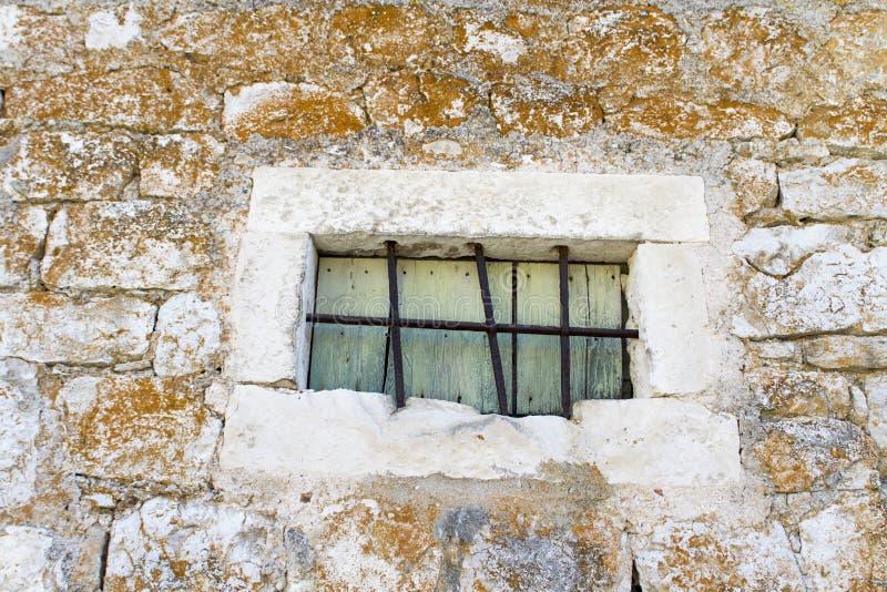 Fenêtre d'île de Hvar, Croatie photos stock