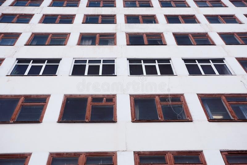 Fenêtre dans un bâtiment industriel photographie stock