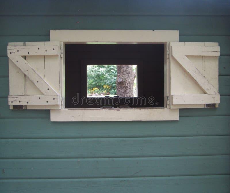 Fenêtre dans une fenêtre image libre de droits