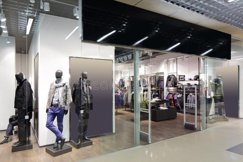 Fenêtre de beau magasin européen image libre de droits