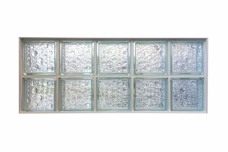 Fenêtre de bloc en verre photos libres de droits