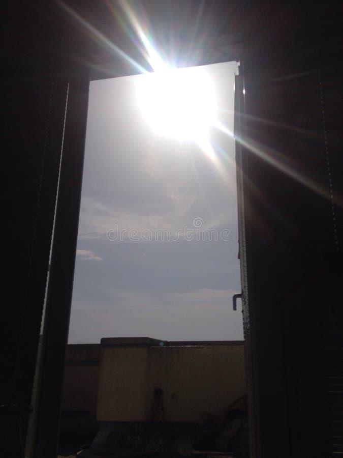 Fenêtre de ciel images libres de droits