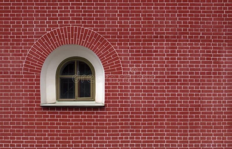Fenêtre de demi-cercle images stock