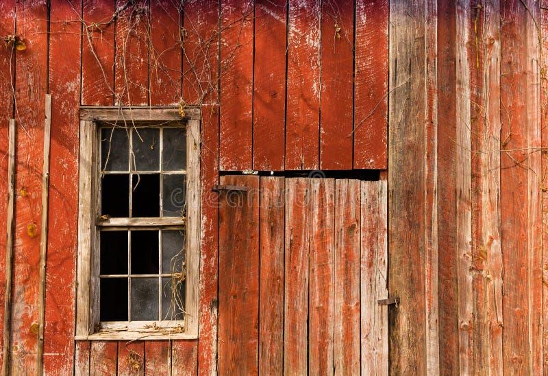 Fenêtre de grange photo libre de droits