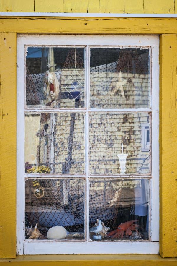 Fenêtre de magasin de souvenir images libres de droits