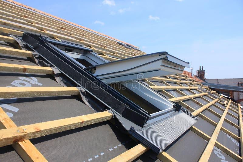 Fenêtre de toit photo libre de droits