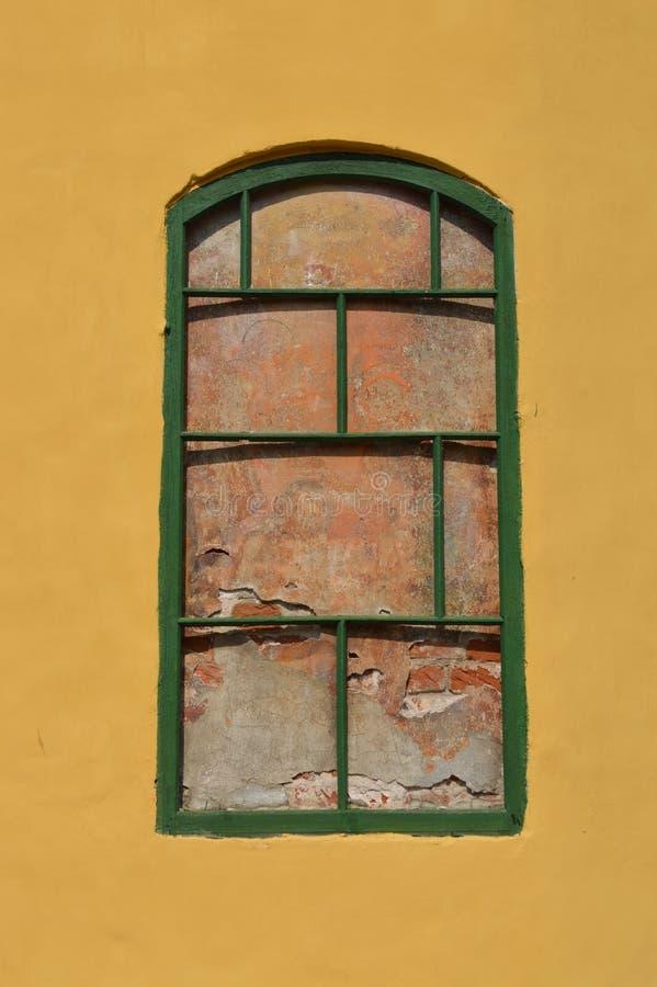 Fenêtre emmurée photos libres de droits