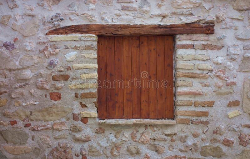 Fenêtre en bois de vintage photographie stock