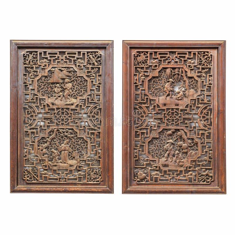 Fenêtre en bois traditionnelle image stock