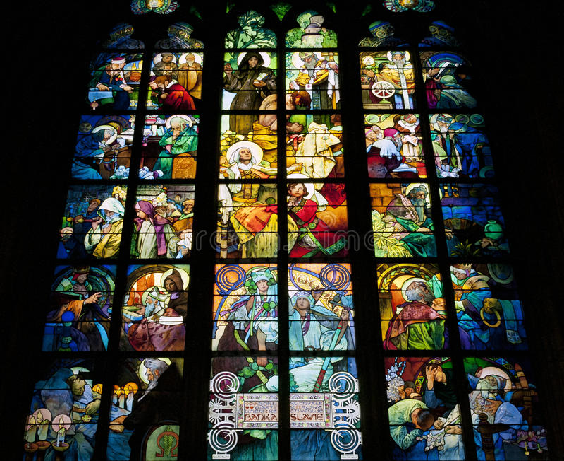 Fenêtre en verre teinté photographie stock libre de droits