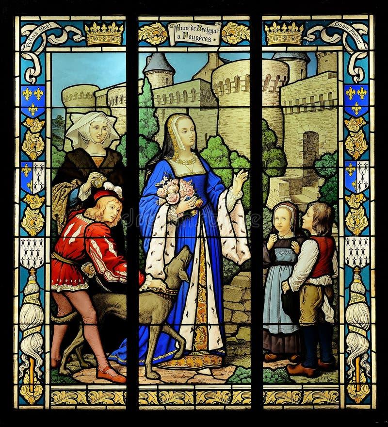 Fenêtre en verre teinté photo libre de droits