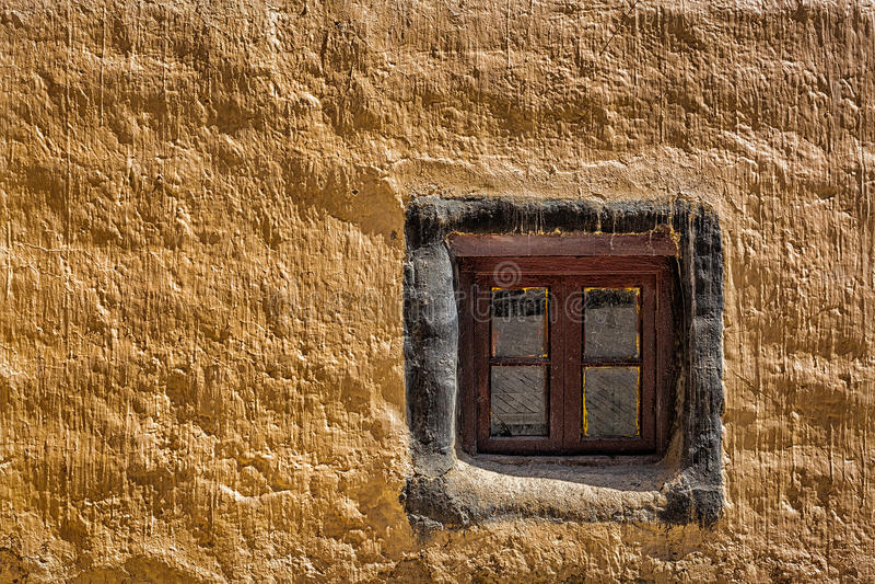 Fenêtre et mur photo libre de droits