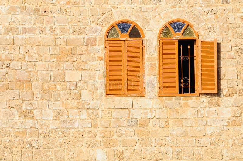 Fenêtres de mosquée photos libres de droits