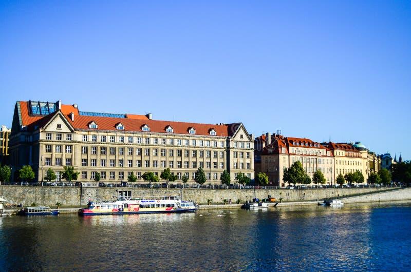 Fenêtres de Prague images libres de droits