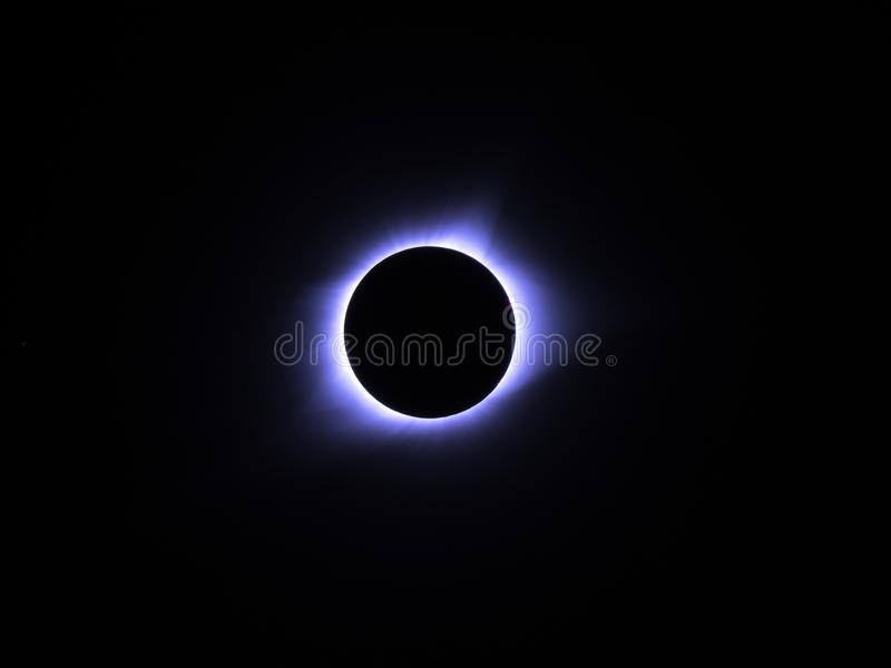 Fenómeno total del eclipse lunar fotos de archivo