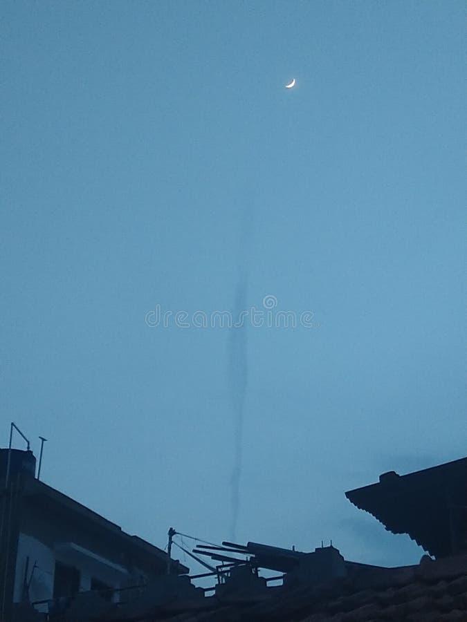 Fenômenos naturais no céu noturno fotos de stock royalty free