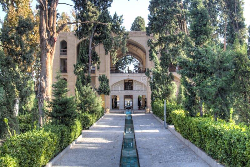 Fenaträdgård i Kashan, Iran royaltyfri fotografi