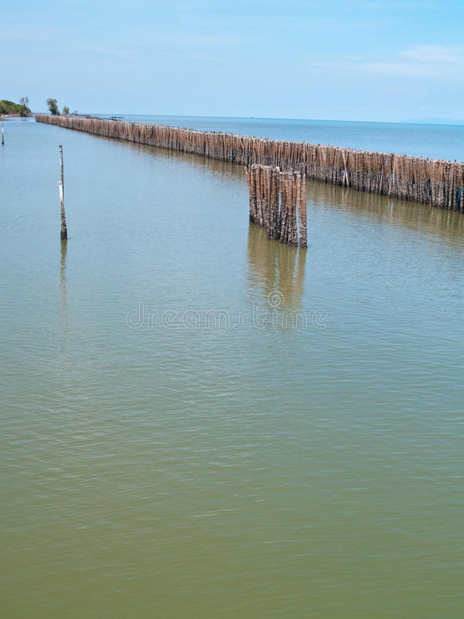 Download Fence bamboo row stock image. Image of material, separate - 14859467