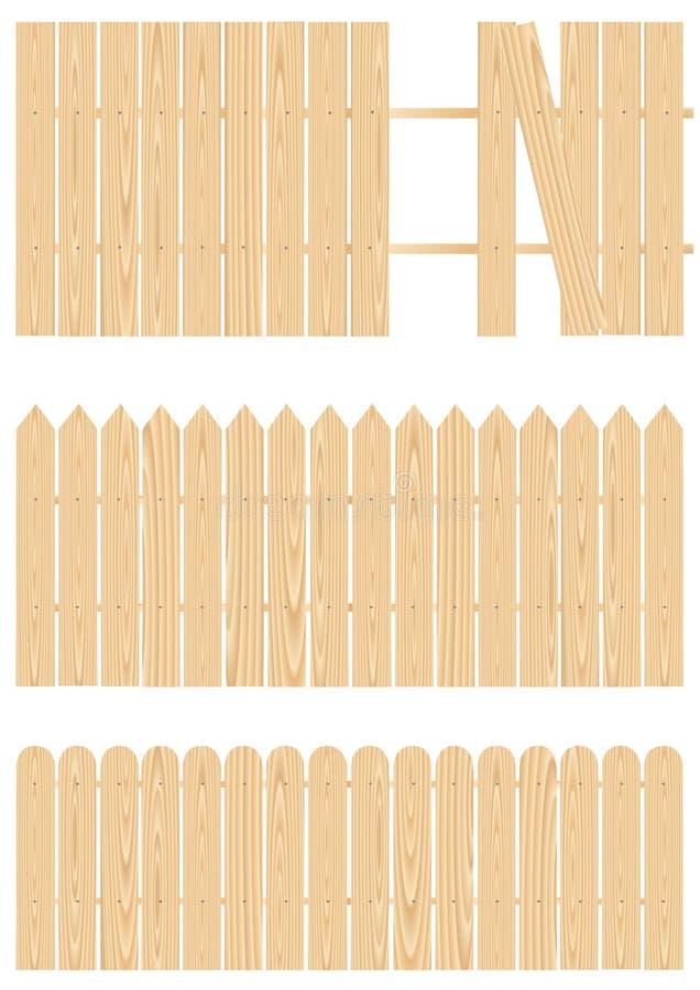 Fence_basic illustration stock