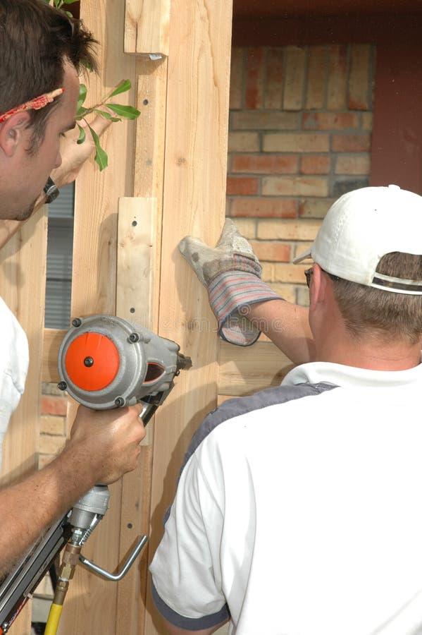 Free Fence Construction Stock Image - 708551