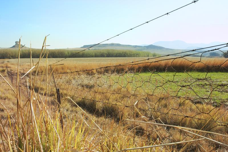 Download Fence in countryside stock photo. Image of landscapes - 6068708