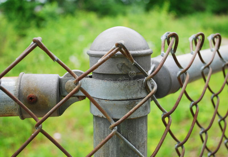 Download Fence detail stock photo. Image of wireless, fence, steel - 26563954