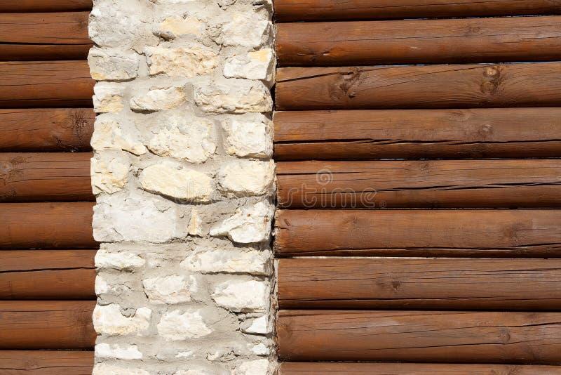 Fence log stock photography