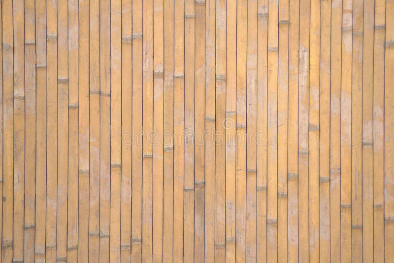 Fence made of bamboo stock images