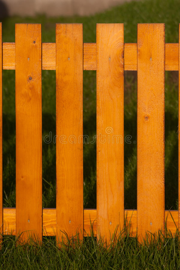 Fence Made On Wood Stock Photography