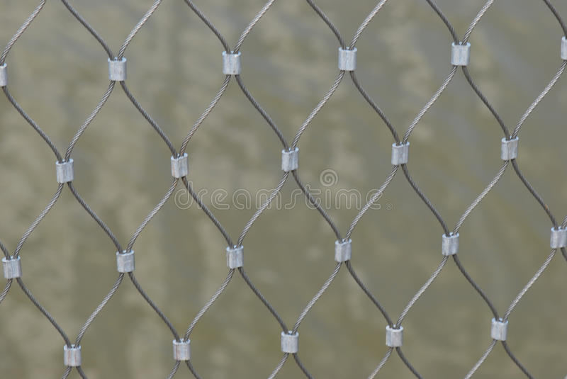 Fence Mesh Royalty Free Stock Photography