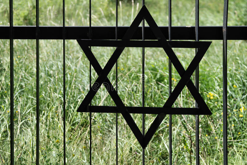 Download Fence In Old Jewish Cemetery In Ozarow. Poland Stock Photo - Image: 15058900