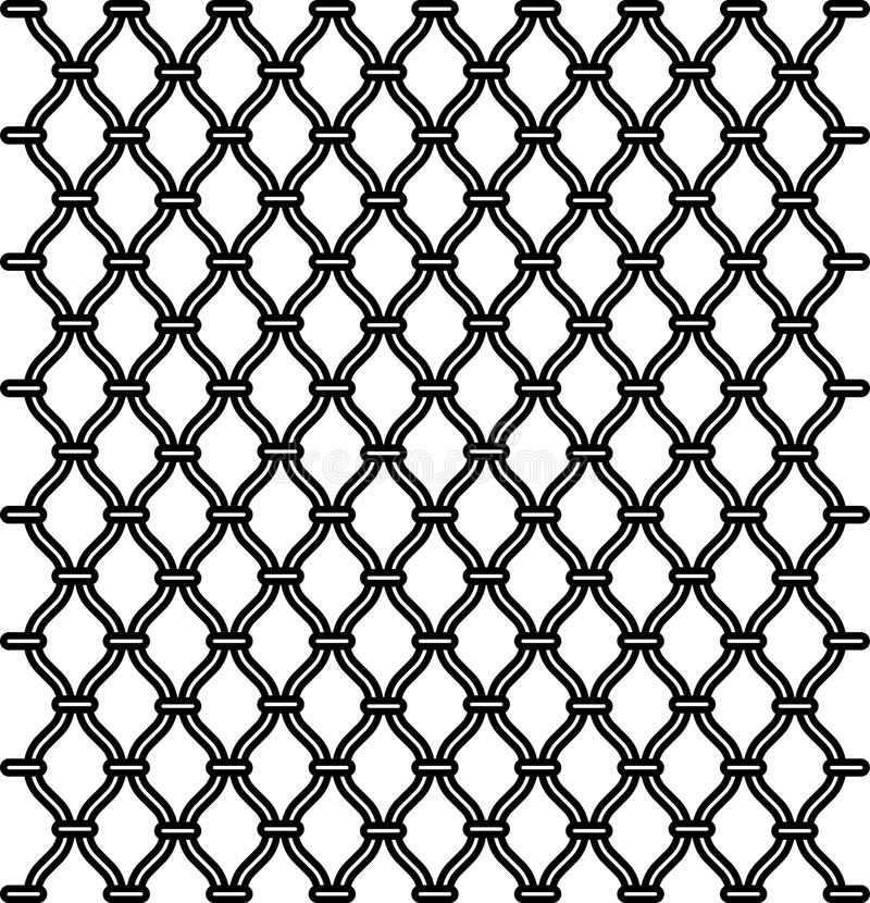 Download Fence texture stock vector. Image of mesh, chainlink - 19528468