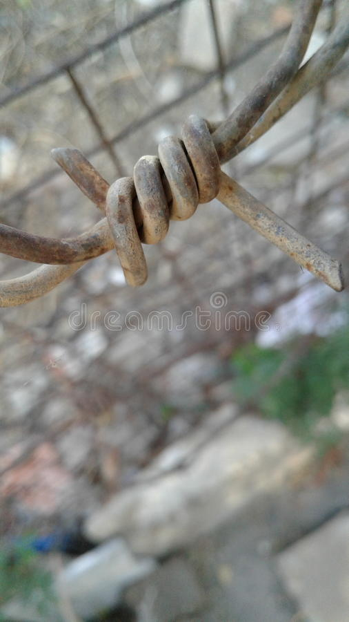 Fence Wire stock photography