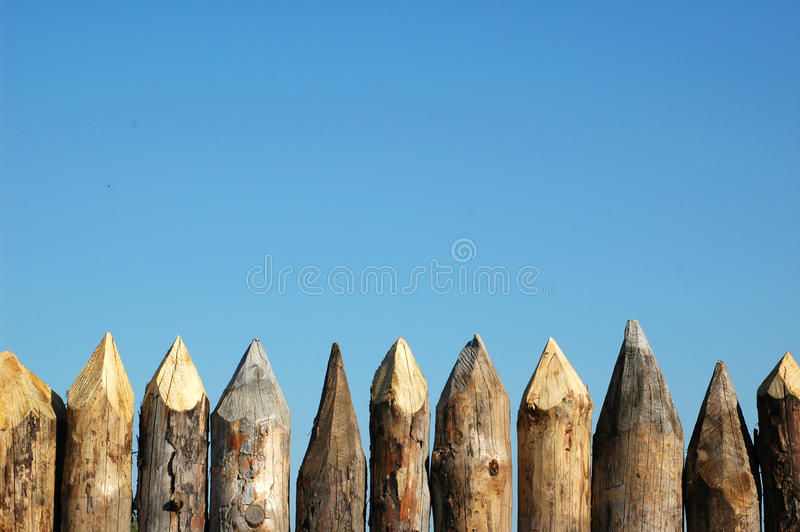 Download Fence of wood stock image. Image of natural, edge, enclose - 25455489