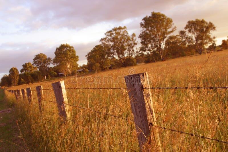 Fenceline photo stock