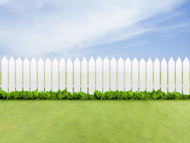 Download Fences stock photo. Image of bush, clear, woods, garden - 26132244