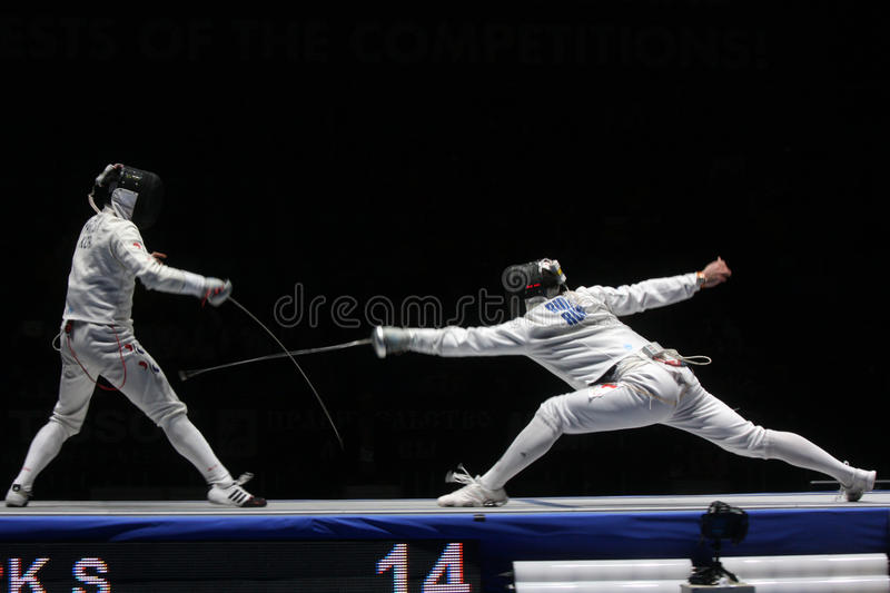 Fencing Editorial Photography