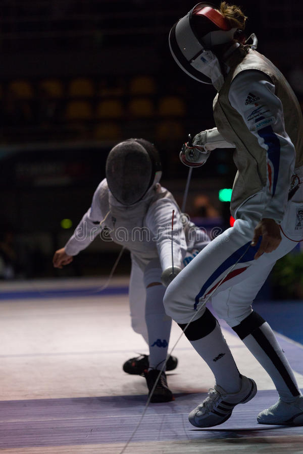 Download Fencing Cup Torino 2013 editorial photography. Image of world - 29981422