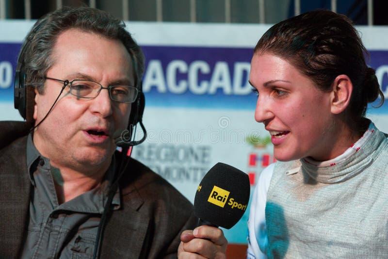 Download Fencing Cup Torino 2013 editorial stock photo. Image of errigo - 29981423