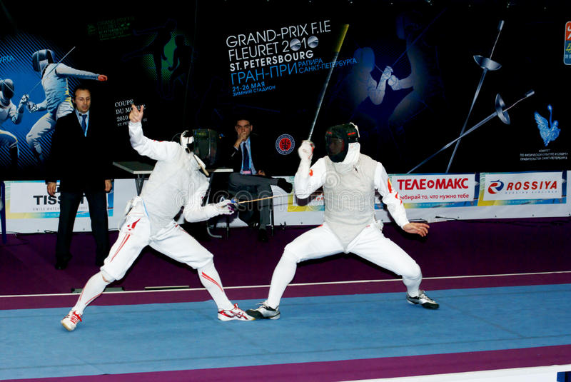 Download Fencing world cup 2010 editorial image. Image of national - 14482170