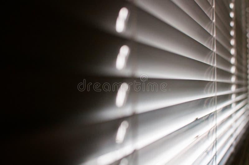 Fenda nas cortinas foto de stock