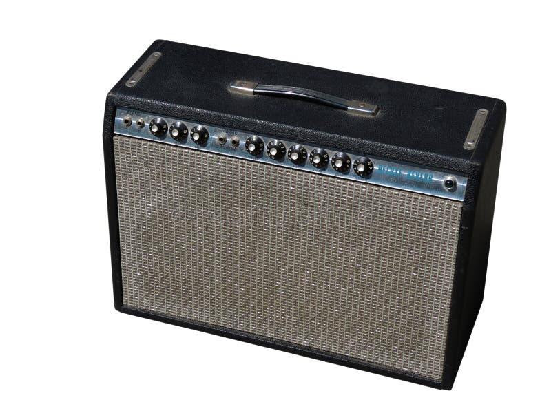 Fender Guitar Amp stock image