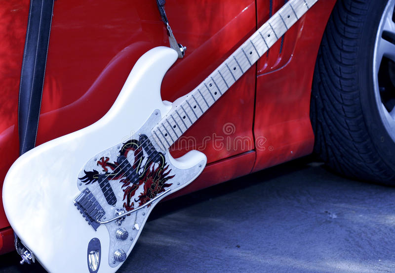 Download Fender Stratocaster Rockin Down The Highway Stock Illustration - Illustration of audi, mysterious: 19384156