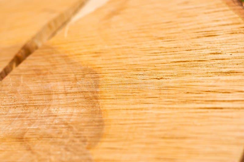 Fendez sur un tronçon d'arbre, texture en bois photographie stock